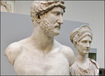 Busto do imperador Adriano