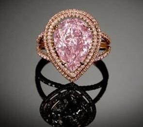 M.S. Rau Jewelry Dealer Giving to One of the Rarest Pink Diamond
