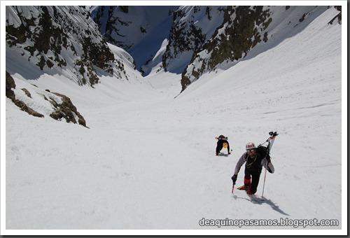 Circo Sur del Midi d'Ossau con esquis (Portalet, Pirineo Frances) (Fon) 164