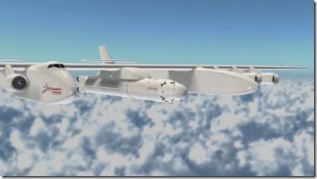 stratolaunch system-cel mai mare avion din lume