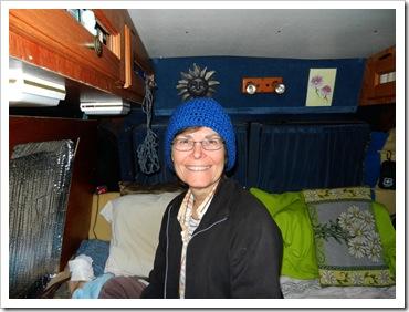 2013-04-20 Santeetlah, NC - Darlene's New Hat