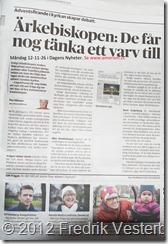 DSC02554.JPG Ärkebiskop Anders Wejryd i Dagens Nyheter. Med Amorism. Beskuren