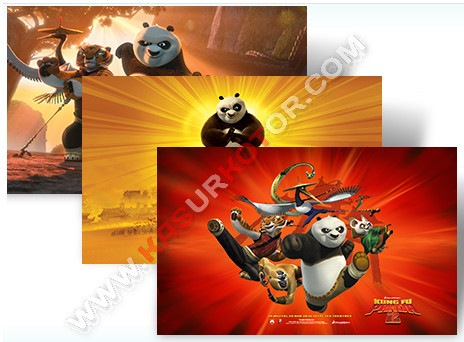Download Kung-Fu Panda 2 Theme untuk Windows 7