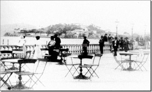 Av. Beira Mar – Centro olhando-se em direção ao Morro da Glória