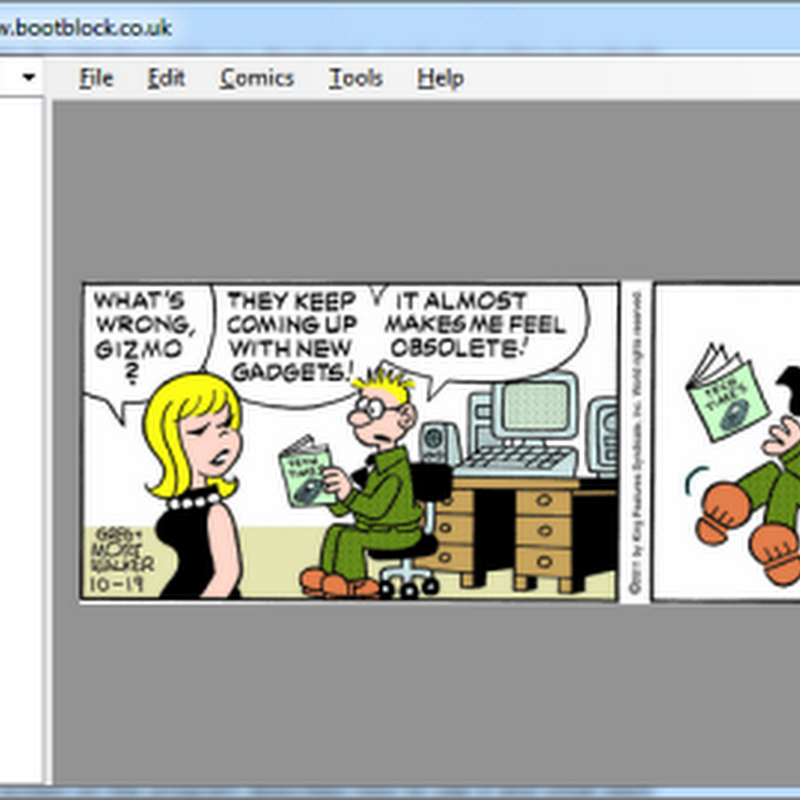 Read Your Favorite Comic Strips on Desktop With Comica
