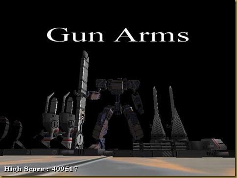 GUN ARMS タイトル