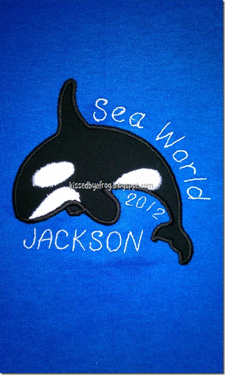 Sea World Memory Keeper Tee Shirt 2