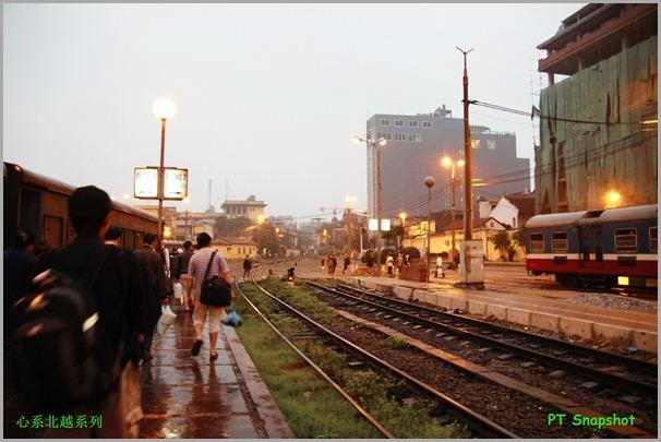 没有月台的火车站