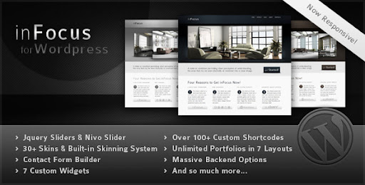 inFocus - Powerful Professional WordPress Theme - Business Corporate