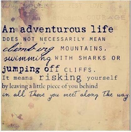 adventurous life