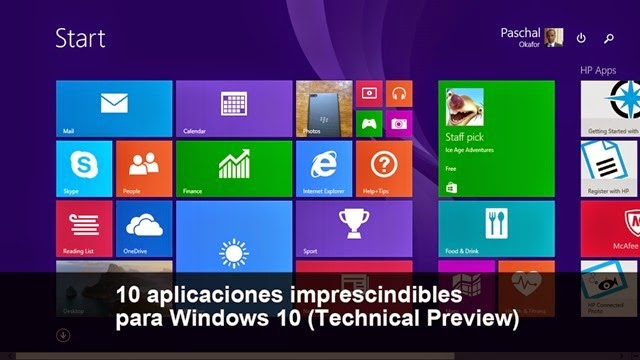 10 aplicaciones imprescindibles para Windows 10