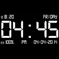 App Dock Station Digital Clock APK for Kindle