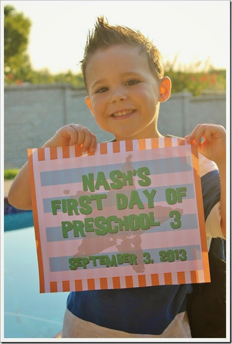 Nash's First Day of Preschool 005