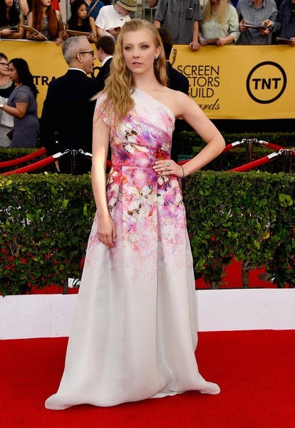 Natalie Dormer attends the 21st Annual Screen Actors Guild Awards