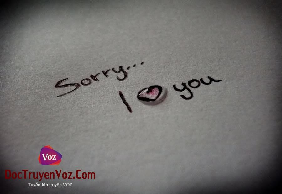 xin lỗi anh yêu em voz