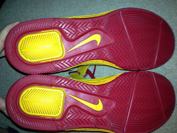 Closer Look at Tristan Thompson8217s Nike Soldier V Cavs PE