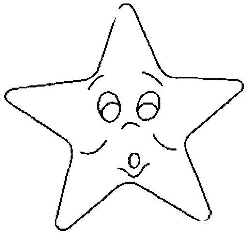 Colorear Estrellas Estrellas Para Colorear