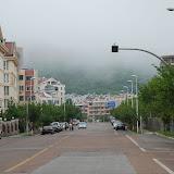 Qingdao - La brume sur la colline
