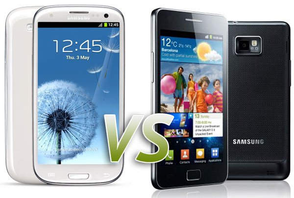 Samsung Galaxy S3 vs Samsung Galaxy S2