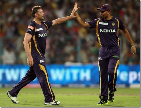 Jacques Kallis for Kolkata Knight Riders against Kings XI Punjab IPL 2013