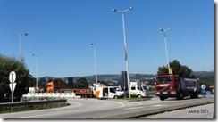 Penafiel 2011Acidente no cruzamento EN106 A4 imag.NapoleãoDiMonteiro