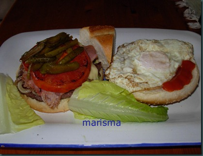 hamburguesa sencilla