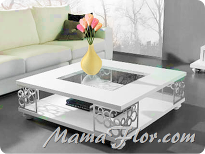 Decora tu Sala o Fiesta con Flores de Tulipanes de Papel