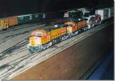 24 LK&R Layout at the Lewis County Mall in January 1998
