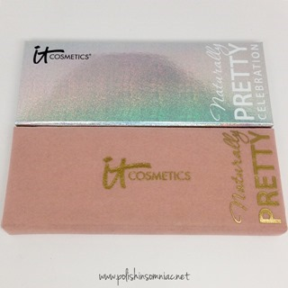 IT Cosmetics Naturally Pretty Celebration Palette vs the original Naturally Pretty Palette