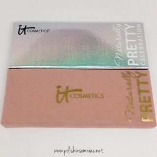 IT Cosmetics Naturally Pretty Celebration Palette vs the original Naturally Pretty Palette