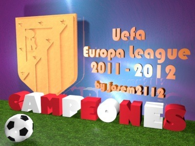#Atleti Campeones Europa League 2012