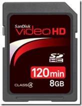 videohd-SDHC-8gb