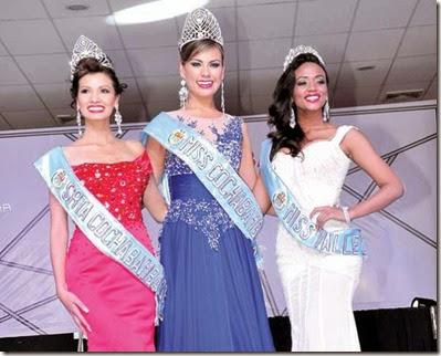 Miss Cochabamba 2014