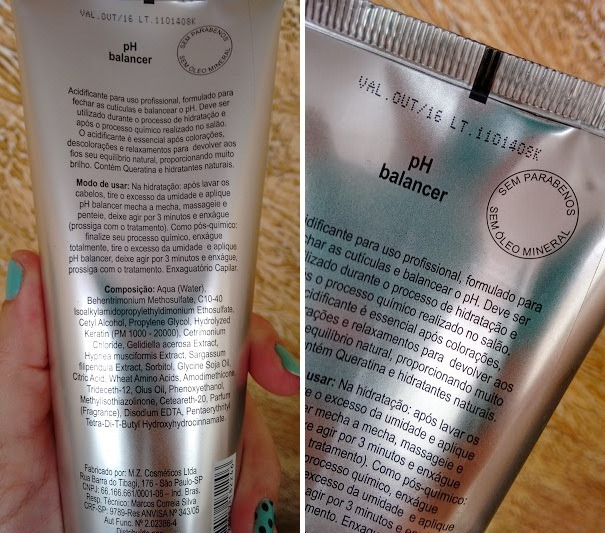 Como usar o acidificante pra cabelos da K-pro?