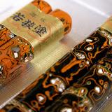 若狭塗りの箸。日本にはたくさんの工芸がある。