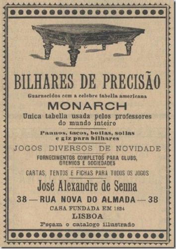 1899 Bilhares de Precisão