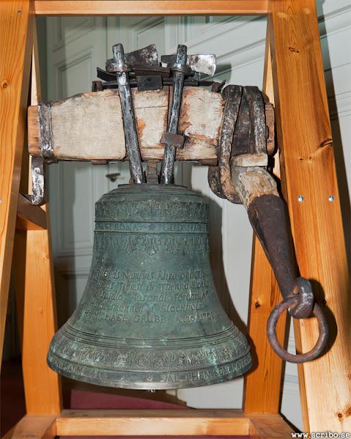 Hospitalskyrkans klocka från 1708 som fanns på Fyristorg