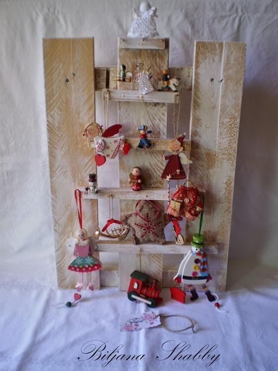 Kreativna ideja uradi sam - božićno drvce 017