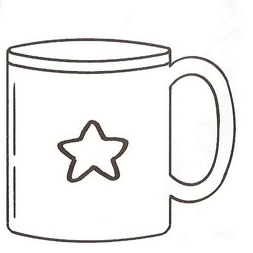 Taza dibujos para colorear - Imagui