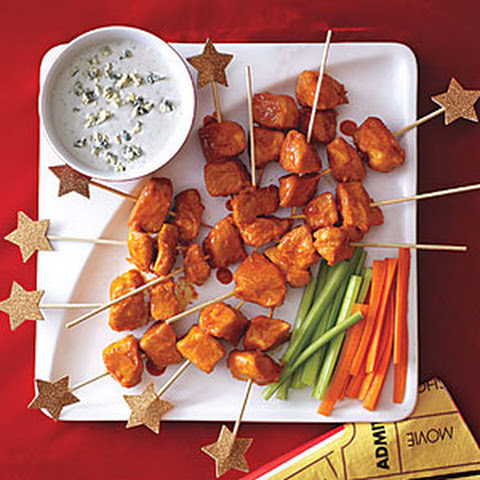 Buffalo Chicken Skewers Recepten | Yummly