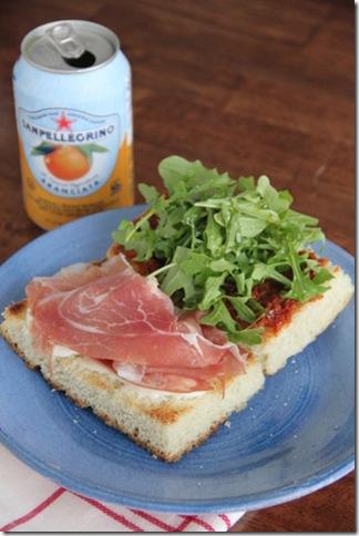 Prosciutto Sandwich 1