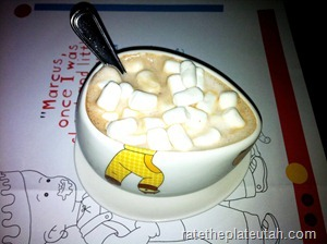 Max Brenner's Kids Hot Cocoa