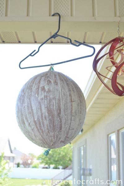 paper mache hot air balloon pinata