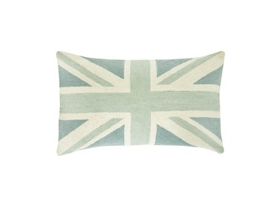 A soft, neutral version of the Union Jack -- Britain's flag. (lauraashley.com)