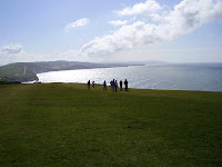 Views of Freshwater Bay.