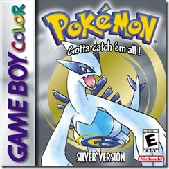 Pokemon silver box art