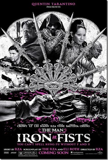 Man With Iron Fists Poster