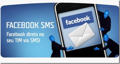 Promoção Tim Facebook SMS Zero