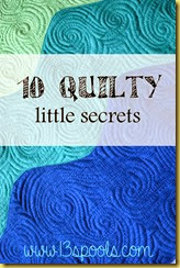 10 quilty secrets