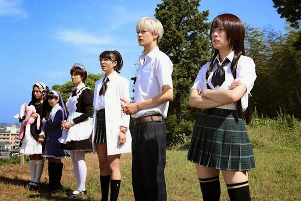 Membros do Clube da Boa Vizinhança (aff vei...so mais o anime)
